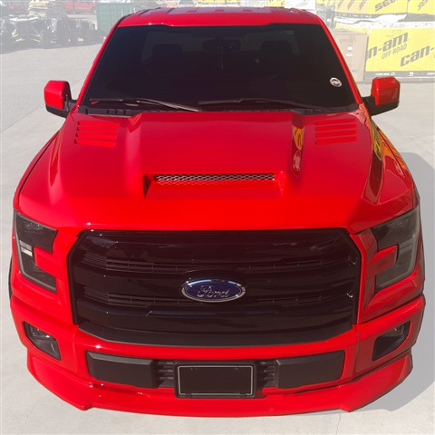 2015 Ford F150 Custom Fiberglass Ram Air Hood